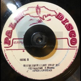 """Palm Disco-7""""-They Just Cant Stop Us / African Star + Whip Lash /  S. Morris - Original Press"""