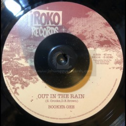 """Iroko Records-7""""-Out In The Rain / Booker G"""