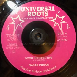 "Universal Roots-7""-Good Prospective / Ras Indian"