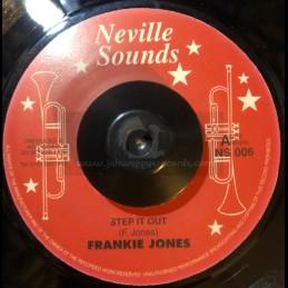 "Neville Sounds-7""-Step It Out / Frankie Jones + Rasta Children / Frankie Jones"