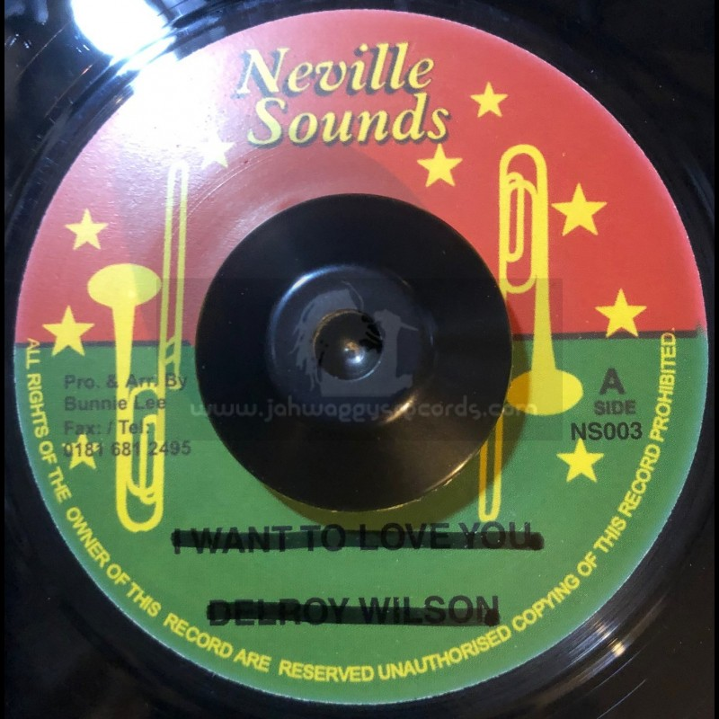 """Neville Sounds-7""""-In The Mood For Love /  Pat Kelly + Lovers Mood / Lennox Brown"""