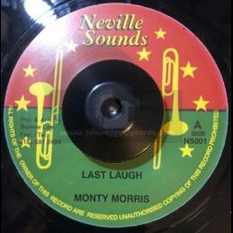 "Neville Sounds-7""-Last Laugh / Monty Morris + You Really Got A Hold On Me / Monty Morris"