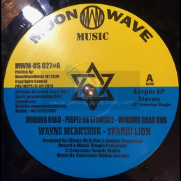 "Moon Wave Music-12""-Winding Road / Wayne McArthur + Artical Sound / Wayne McArthur"