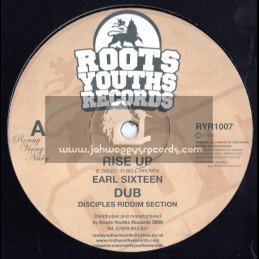 "Roots Youths Records-12""-Rise Up / Earl Sixteen"