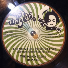"""Dig This Way-7""""-The Moonlight Runner / Abeng & The Co-Operators"""