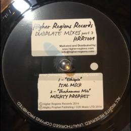 "Higher Regions Records-7""-Ethiopia / Ital Mick Meets Mighty Prophet"