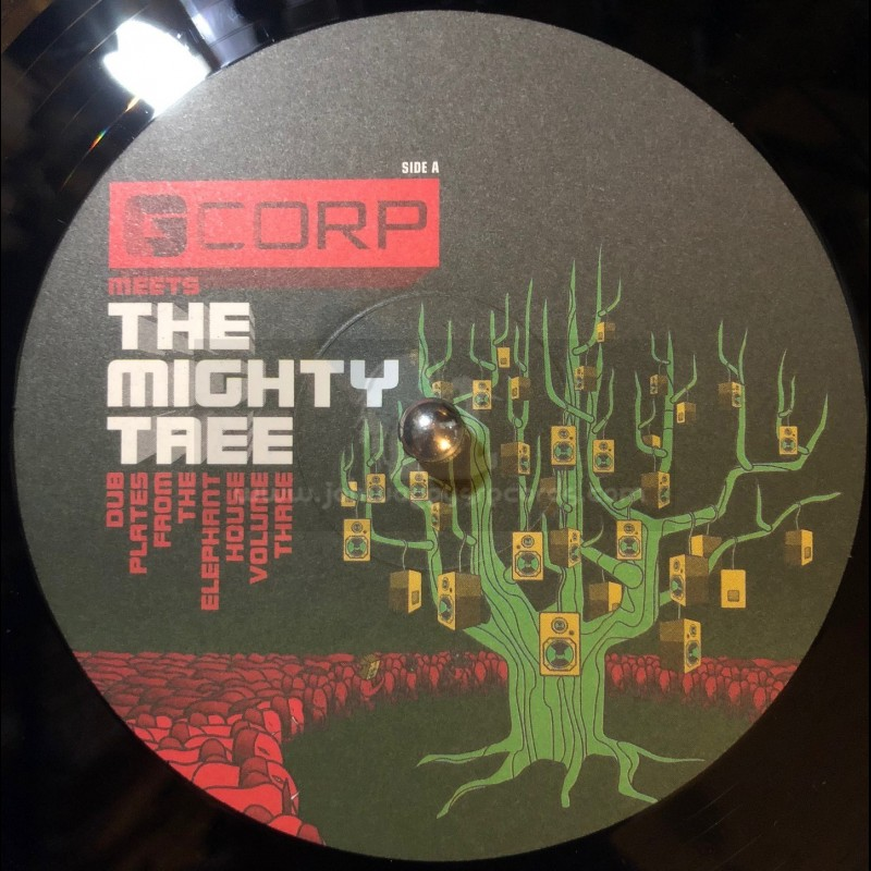 """G CORP MEETS THE MIGHY TREE-10""""-LOVE OF JAH / JNR SAM"""