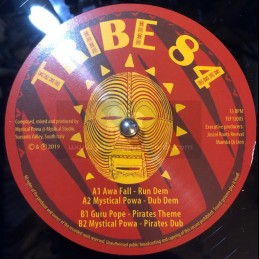 "Tribe 84-12""-Run Dem / Awa Fall + Pirates Theme / Guru Pope"