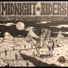 Red Robin-Lp-Midnight Riders ‎Meets The Naram Rhythm Section