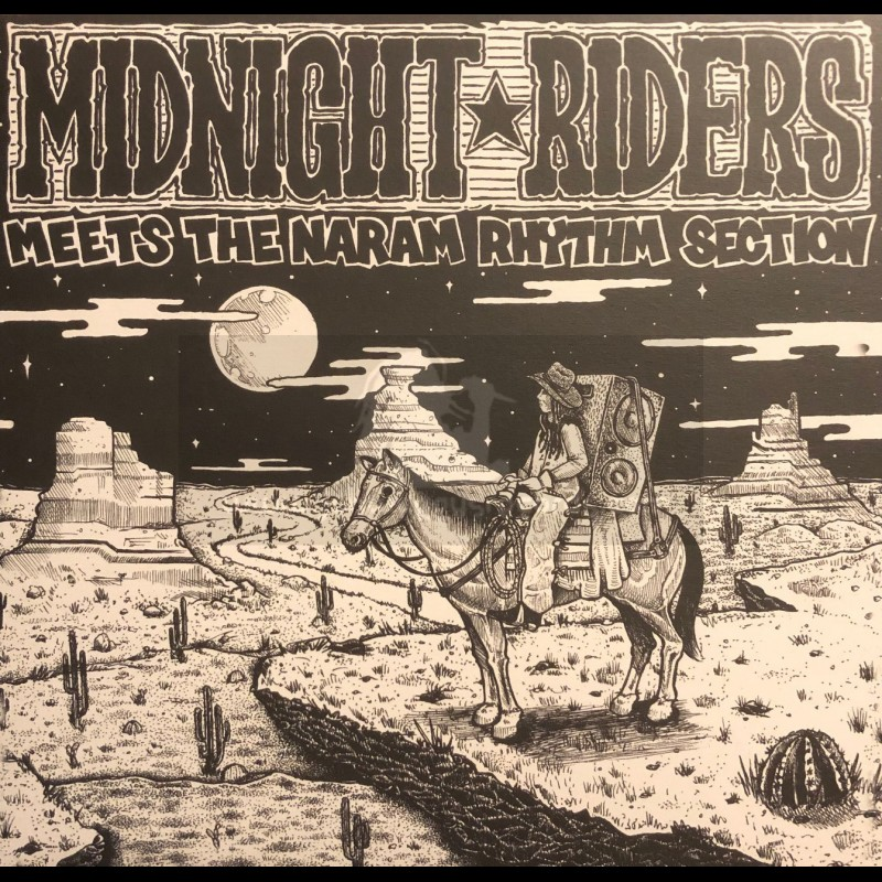 Red Robin-Lp-Midnight Riders Meets The Naram Rhythm Section