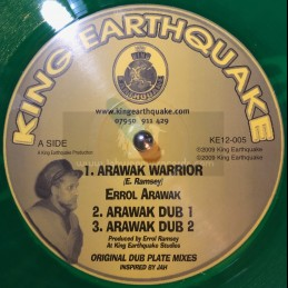 "King Earthquake-12""-Arawak Warrior + Kings Robe / King Earthquake"