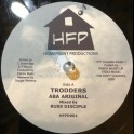 """Homefront Productions-10""""-Trodders / Aba Ariginal Meets Russ Disciple - Limited Poly Vinyl Dubplate"""