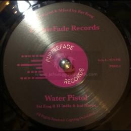 """Purplefade Records-7""""-Water Pistol / El Indio & Ital Horns"""