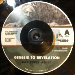 "Debtera Records-7""-Genesis To Revelation / Ras Terry Asher"