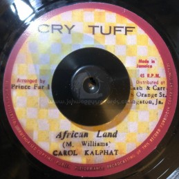 """Cry Tuff-7""""-African Land / Carol Kalphat"""