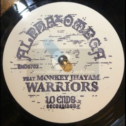 "Lo Ends Recordings-7""-Warriors / Alpha & Omega Featuring Monkey Jhayam"