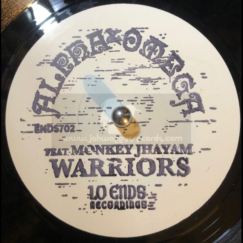 """Lo Ends Recordings-7""""-Warriors / Alpha & Omega Featuring Monkey Jhayam"""