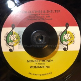 "Food Clothes & Shelter-7""-Monkey Money / Woman Kind"