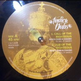 "Indica Dubs-10""-Call Of The Righteous / Indica Dubs Meets Chazbo"