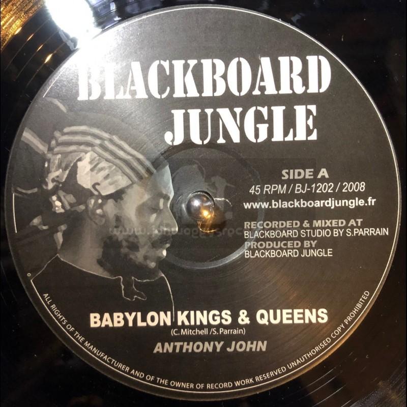 "BLACKBOARD JUNGLE 12""-BABYLON KINGS & QUEENS/ANTHONY JOHN-KINGS BLOW/SAND-I"
