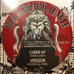"Blackboard Jungle-12""-Cheer Up / Patrick Andy + Hota Fyah / Trevor Junior"