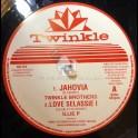 """Twinkle Brothers-12""""-Jahoviah / Twinkle Brothers + Love Selassie I / ILLIe P"""