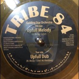 "Tribe 84 Records-7""-Upfull Melody / Guiding Star Orchestra"
