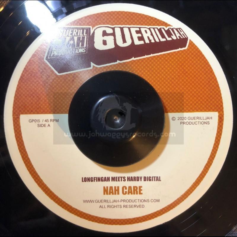 "Guerilljah Productions-7""-Nah Care / Longfingah Meets Hardy Digital"