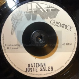 """Jah Guidance-7""""-Gateman / Josie Wales"""