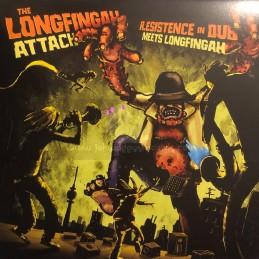 """Guerilljah Productions-12""""-The Longfingah Attack / R.esistence In Dub Meets Longfingah"""
