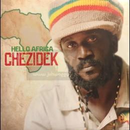 Tad's Records-Lp-Hello Africa / Chezidek