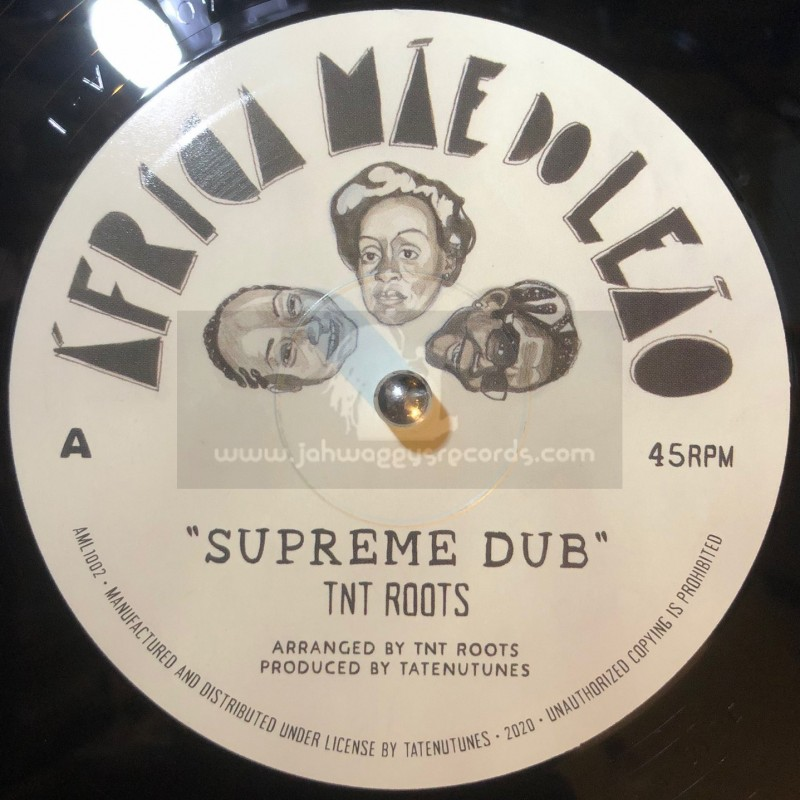 """Africa Mae do Leao-10""""-Supreme Dub / TNT Roots + Solidarity / TNT Roots"""