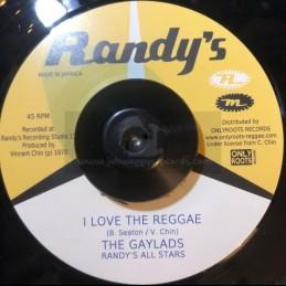 "Randys-7""-Wha She Do Now / Gaylads + I Love The Reggae / Gaylads"