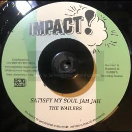 """Impact-7""""-Satisfy My Soul Jah Jah / Wailers"""