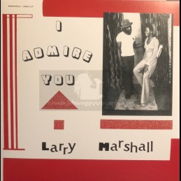 Marshall-Lp-I Admire You / Larry Marshall