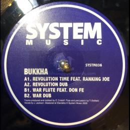 "System Music-12""-Revolution Time / Ranking Joe + War Flute / Don Fe"