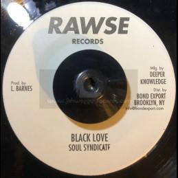 "Rawse Records-7""-Black Harmony / Don Carlos & Soul Syndicate"