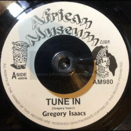"""African Museum-7""""-Tune In + Sacrifice / Gregory Isaacs"""