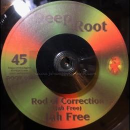 "Deep Root-7""-Rod Of Correction / Jah Free"