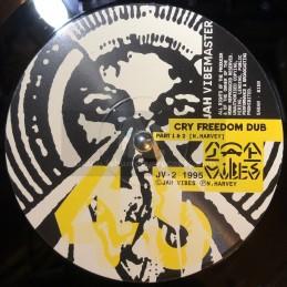"Jah VibesMaster-12""-Cry Freedom Dub + Foundation Dub + Sticksman Dub / Jah VibesMaster"