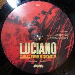 "Addis Records-7""-State Of Emergency / Luciano"