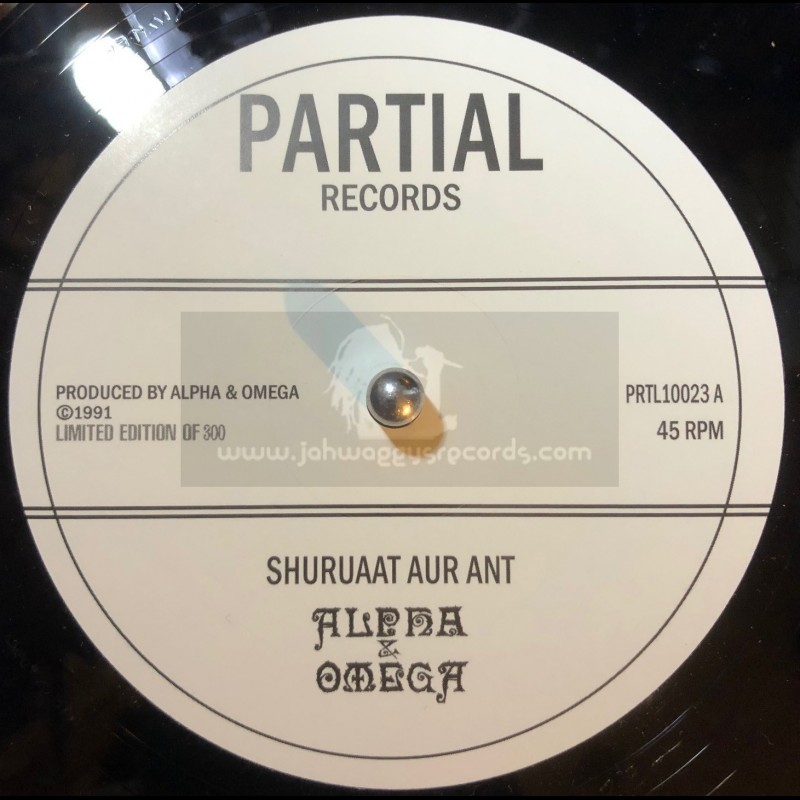 Partial Records-10-Shuruaat Aur Ant / Alpha & Omega + The Beginning and the End / Alpha & Omega - Limited 300 Press