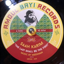 "Amoul-Bayi Records-7""-The Last Shall Be The First / Saah Karim"