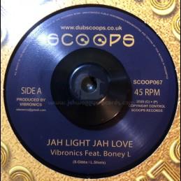 """Scoops-Gold discs Classics-7""""-Jah Light, Jah Love / Boney L"""