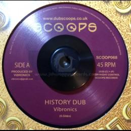 """Scoops-Gold discs Classics-7""""-History Dub / Vibronics"""