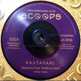 "Scoops-Gold discs Classics-7""-R.A.S.T.A.F.A.R.I. / Vibronics Feat. Prof. Natty"