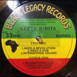 Black Legacy Records-Ep-Need A Revolution+International Soldier+Knock On I Door/Keety Roots
