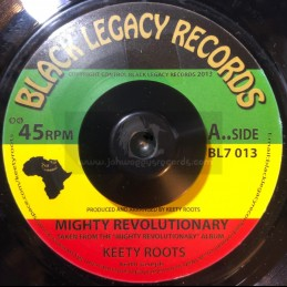"Black Legacy Records-7""-Mighty Revolutionary / Keety Roots"