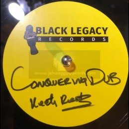 """Black Legacy Records-10""""-Dubplate-Conquering Dub / Keety Roots"""
