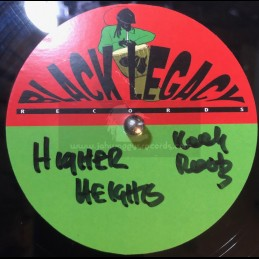 """Black Legacy Records-10""""-Dubplate-Higher Heights / Keety Roots"""